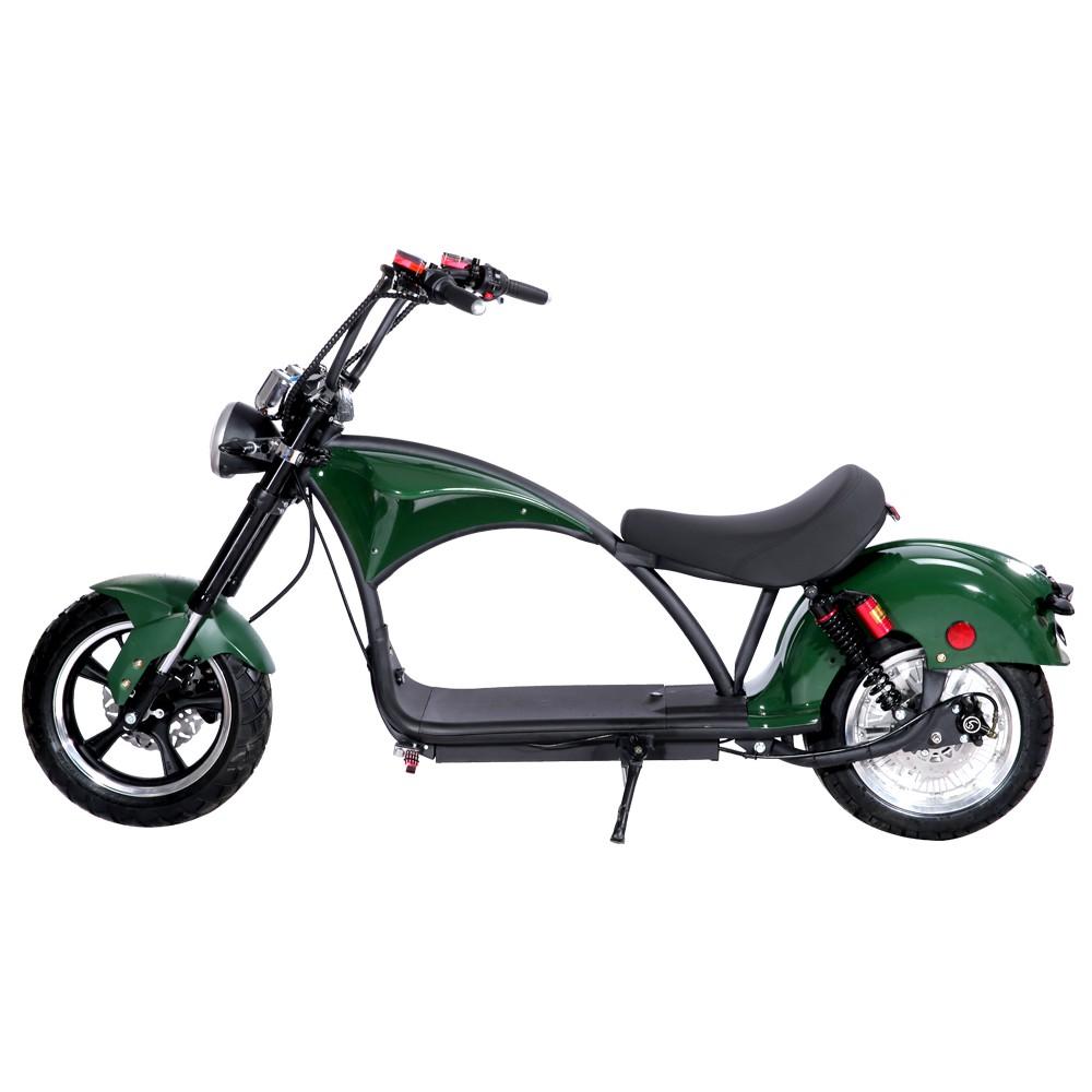 Scooter elétrica citycoco X14 2000W com bateria 23Ah