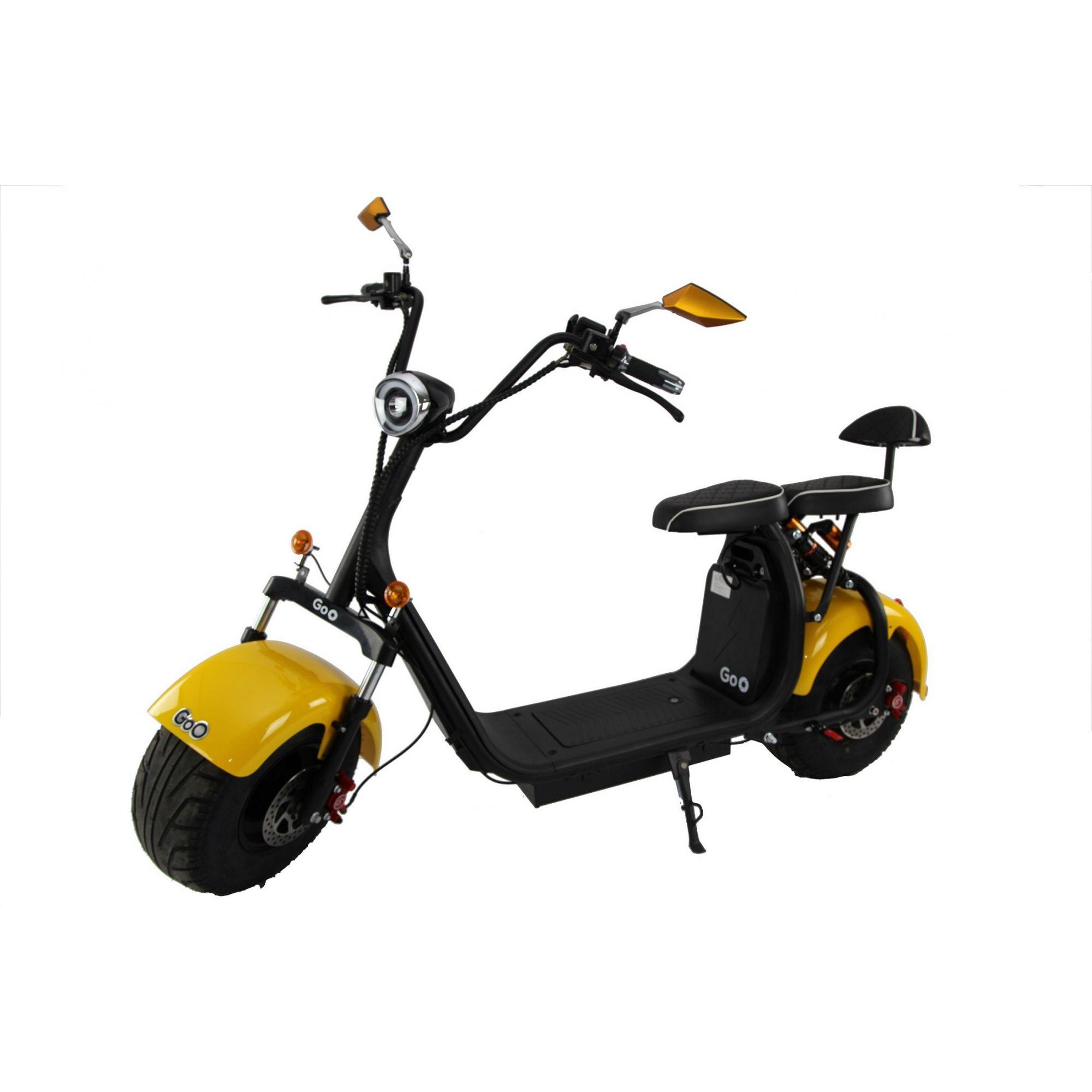 Scooter elétrica citycoco X7 1500W com bateria 12Ah