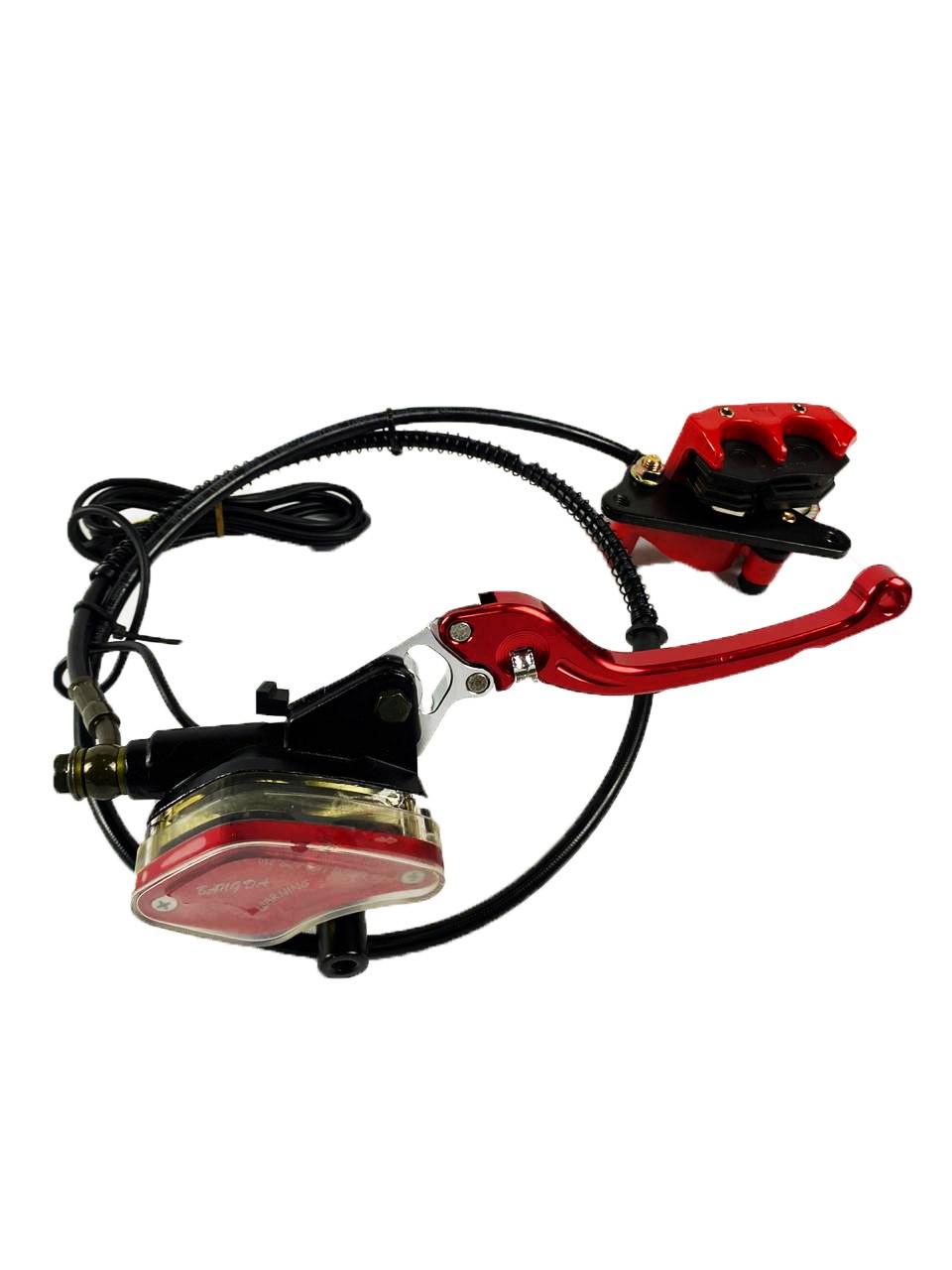 Sistema de freio guidão completo para scooter elétrica citycoco x14 chopper