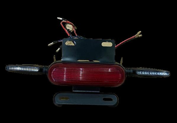 Sistema de Setas e luz de freio em LED para scooter eletrica citycoco