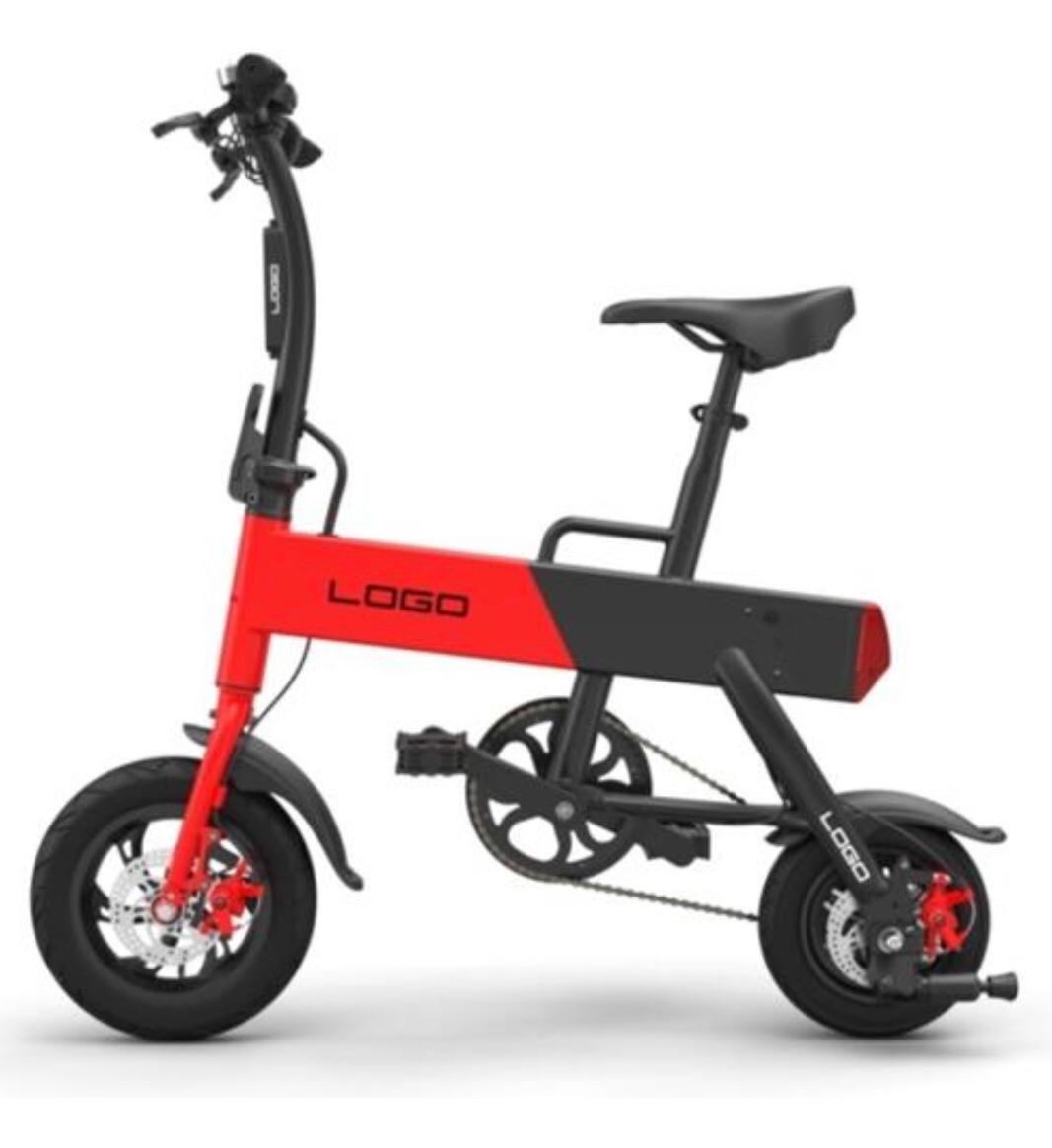 Mini Bike elétrica com pedal 350W - STB22