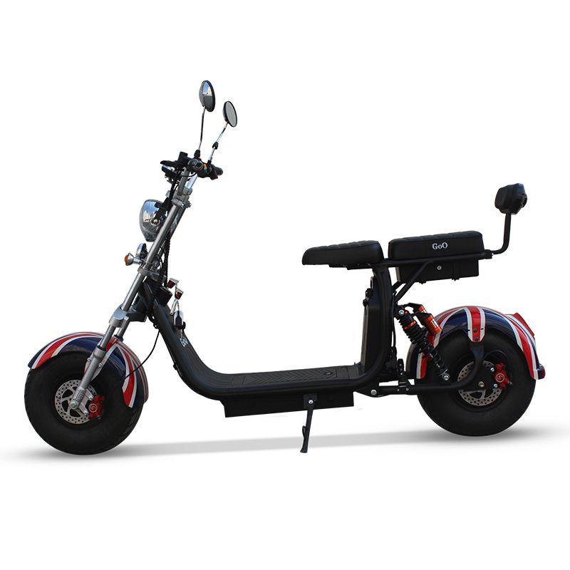 Scooter elétrica citycoco X10 1500W com bateria 12Ah