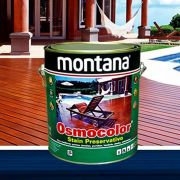 Stain Osmocolor Castanho UV Deck Montana 3,6L