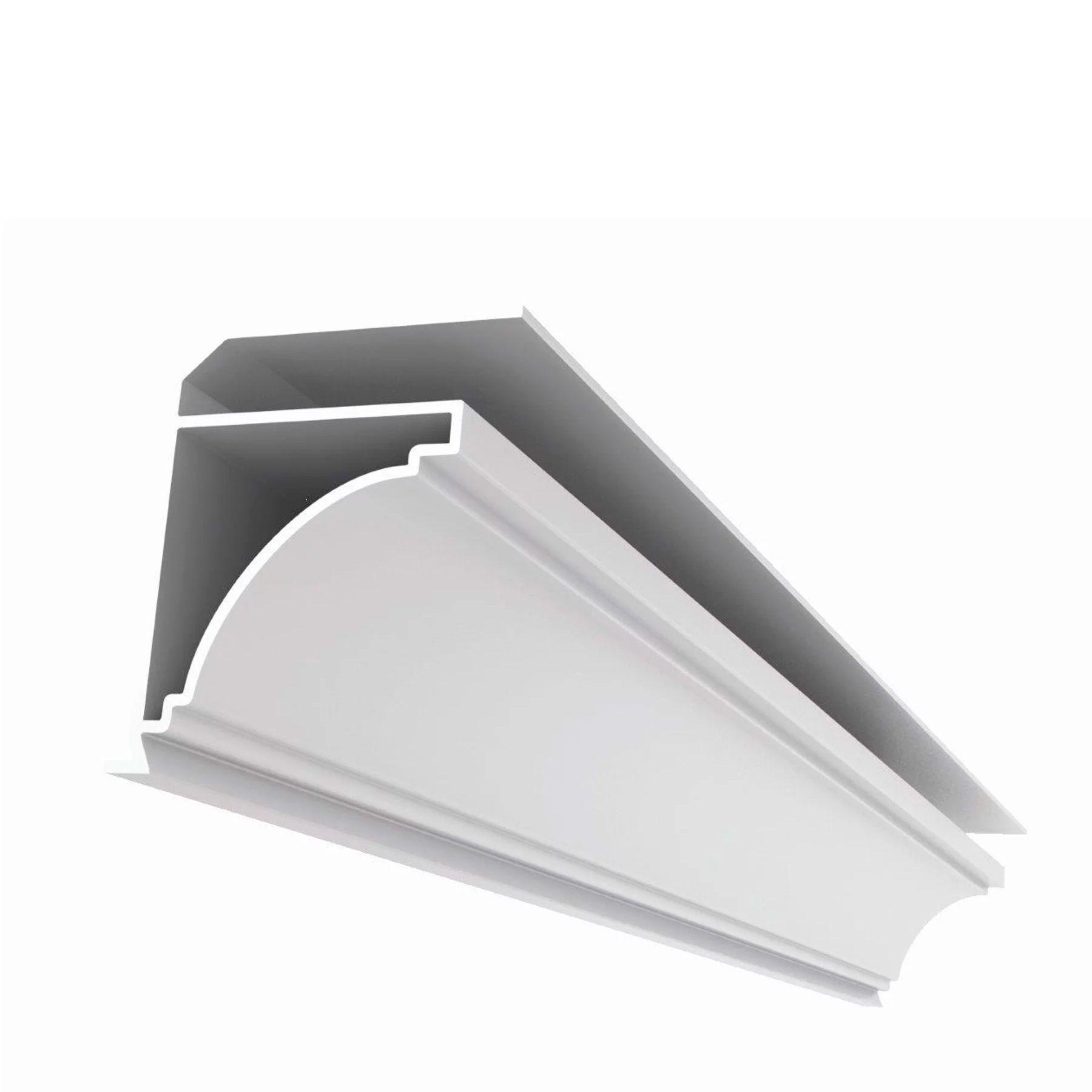 Acabamento Moldura de PVC Branco MaisPvc