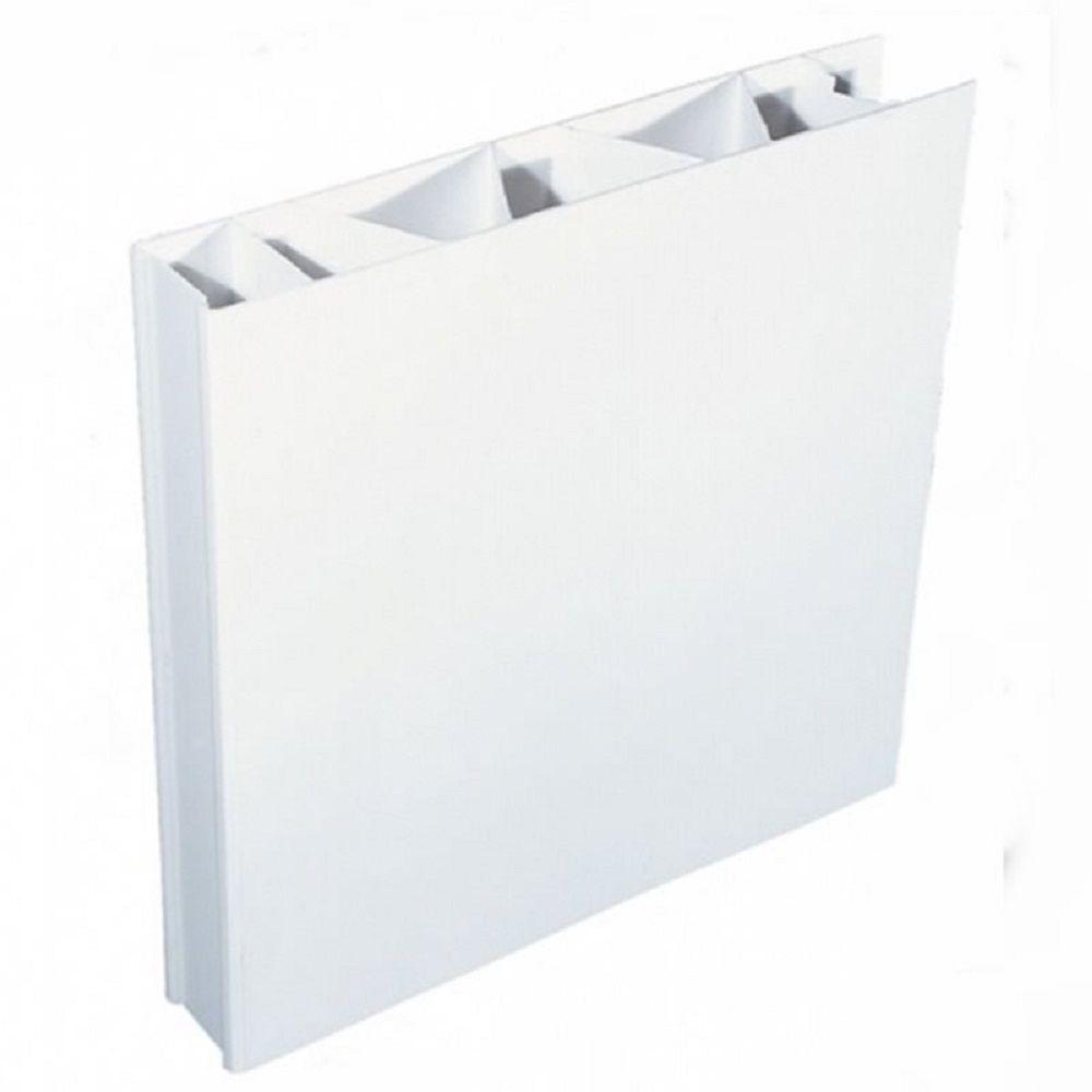 Painel Pvc Cor Branco 35x0600x2110mm