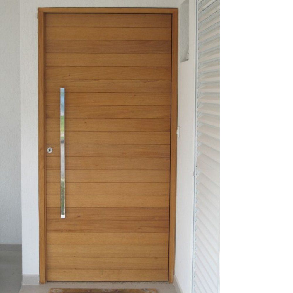 Porta Maciça Jequitibá Ref 410 Giovana Portas