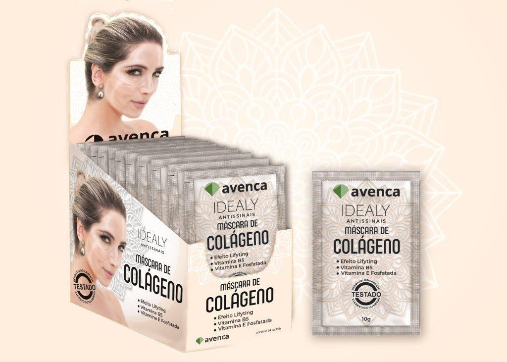 IDEALY MASCARA FACIAL COLAGENO - cx 24und 10g