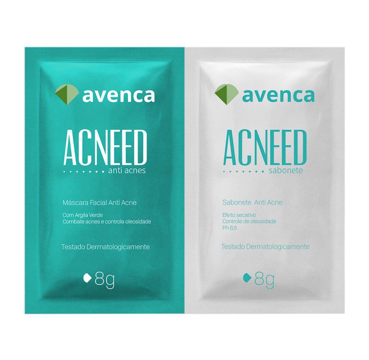 Mascara Acneed - caixa com 25Kits - 20g