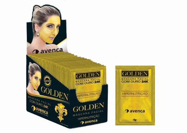 MASCARA GOLDEN24 - cx 24und 8g