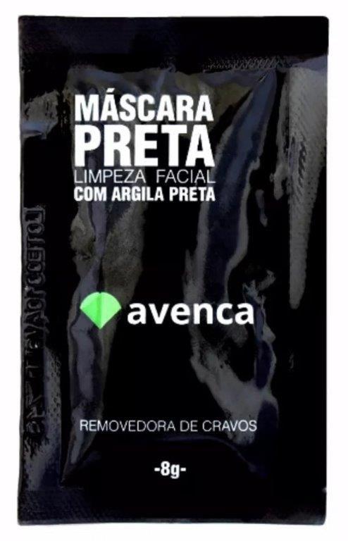 MASCARA PRETA24 - cx 24und 8g