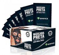 Mascara PRETA50 - caixa com 50und 8g