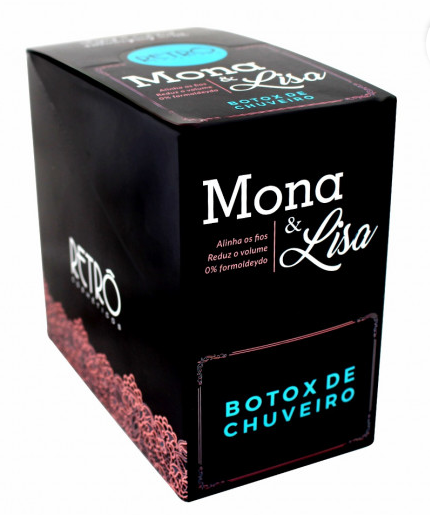 RETRO BOTOX CHUVEIRO MONA   LISA (CAIXA DISPLAY 20X50GR )