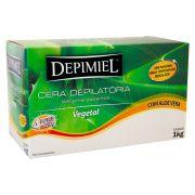Cera Quente Depilatória Depimiel  - Vegetal 1kg