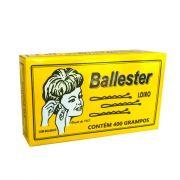 Grampos de Aço Nº7 Loiro Ballester Caixa com 400 unidades