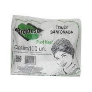Touca Sanfonada Black PROTDESC 100un