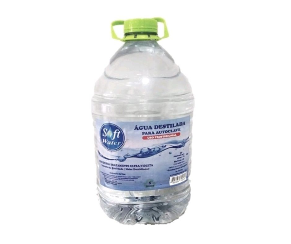 Água destilada para AUTOCLAVES 5000ML