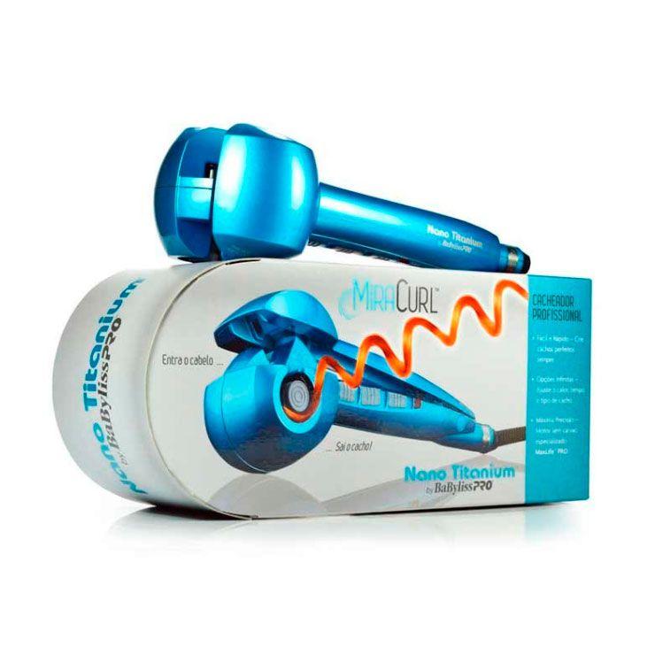 Cacheador Babyliss Miracurl Nano Titanium - 220v