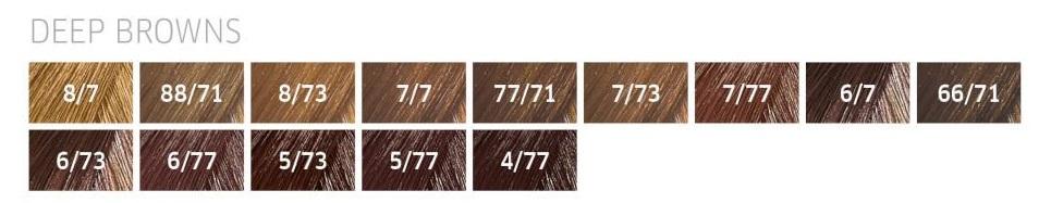 Coloração Color Perfect Deep Browns 60g