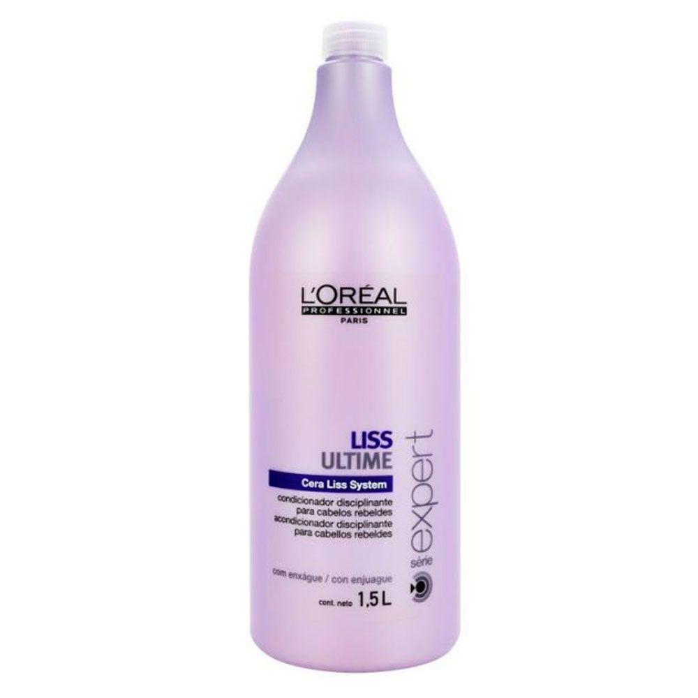 Condicionador Para Cabelos Rebeldes Liss Ultime L'Oréal Professionnel - 1500ml