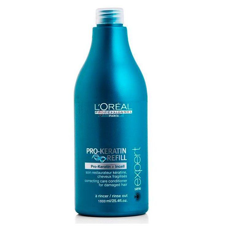 Condicionador Restaurador Para Cabelos Fragilizados PRO-Keratin Refill L'Oréal Professionnel - 1500ml