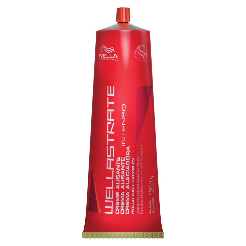 Creme Alisante Intenso Wellastrate Wella Professional - 125g