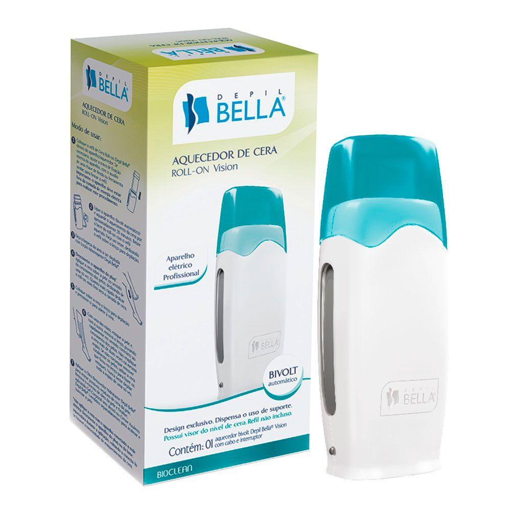 Depil Bella Aquecedor Elétrico de Cera Roll-On Vision - Bivolt