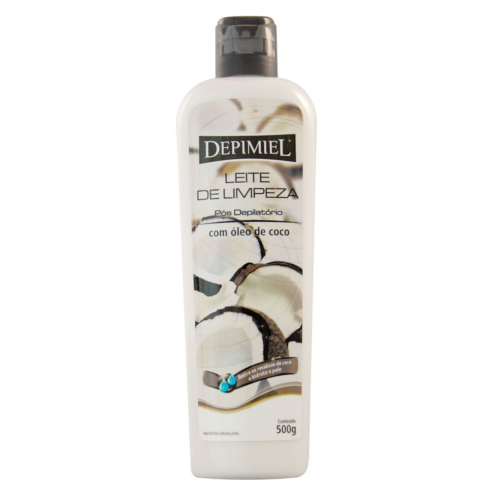 Depimiel Leite de Limpeza Hidratante com Óleo de Coco - 500g
