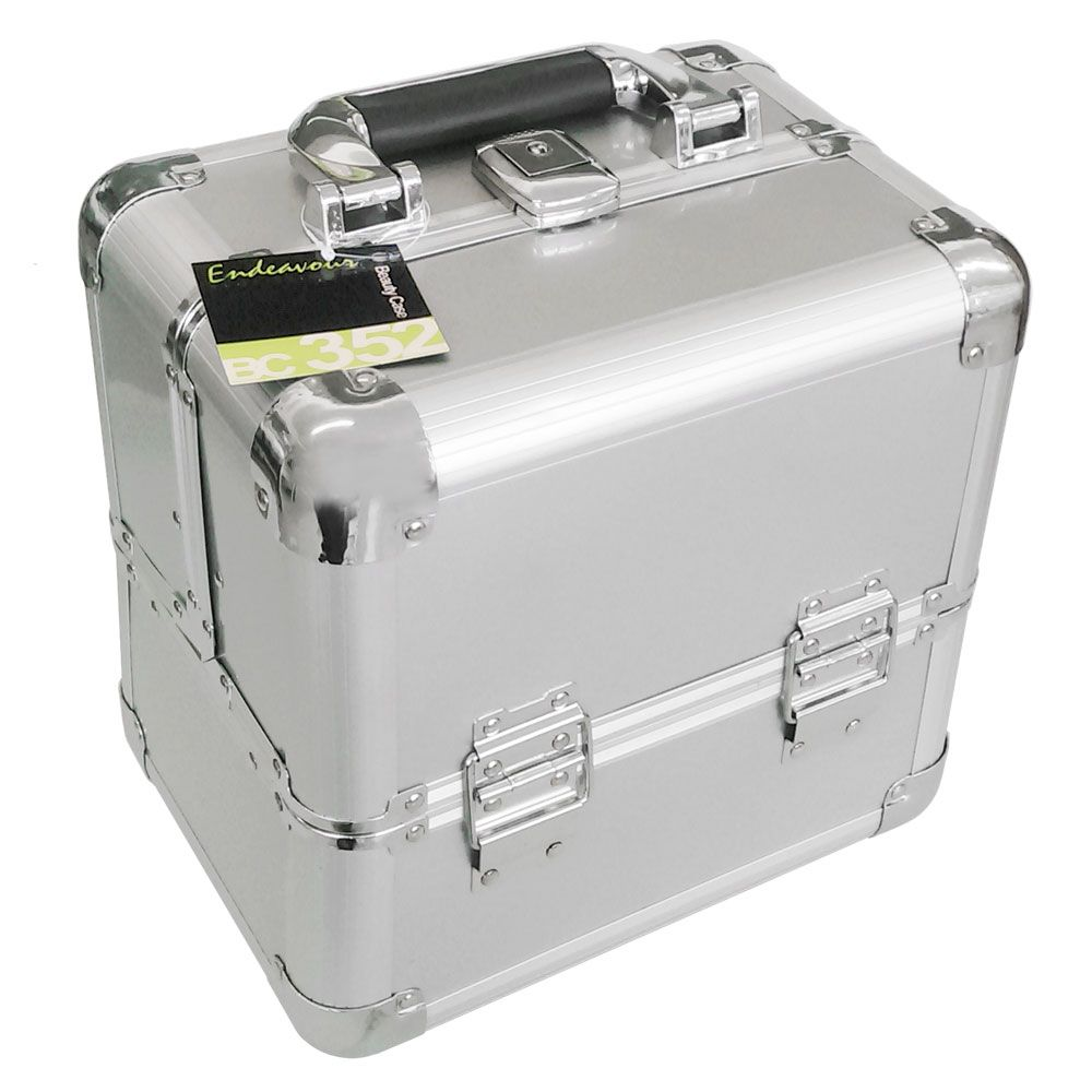 Endeavour Mini Maleta Profissional para Maquiagem Preta - BC352