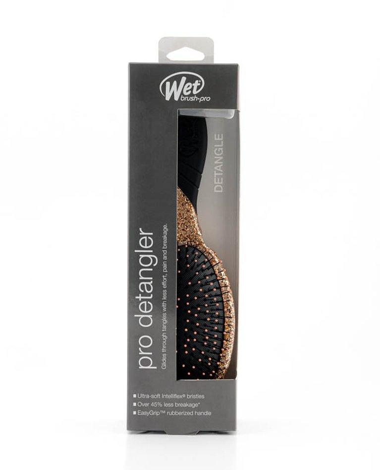 Escova Cabelo Wet Brush Detangler Sparkle Wetbrush Gold Rose