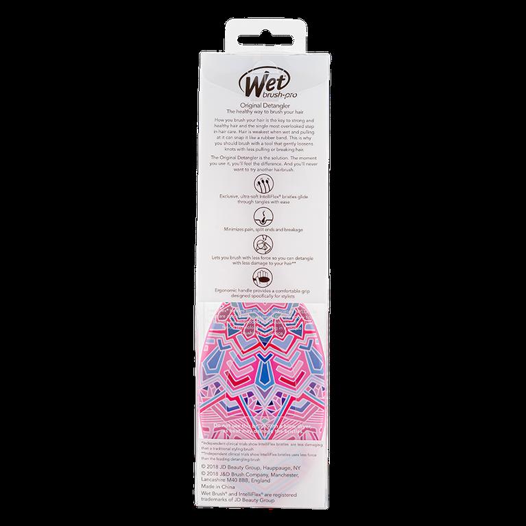 Escova De Cabelo Wet Brush Detangler Rosa Boho Chic