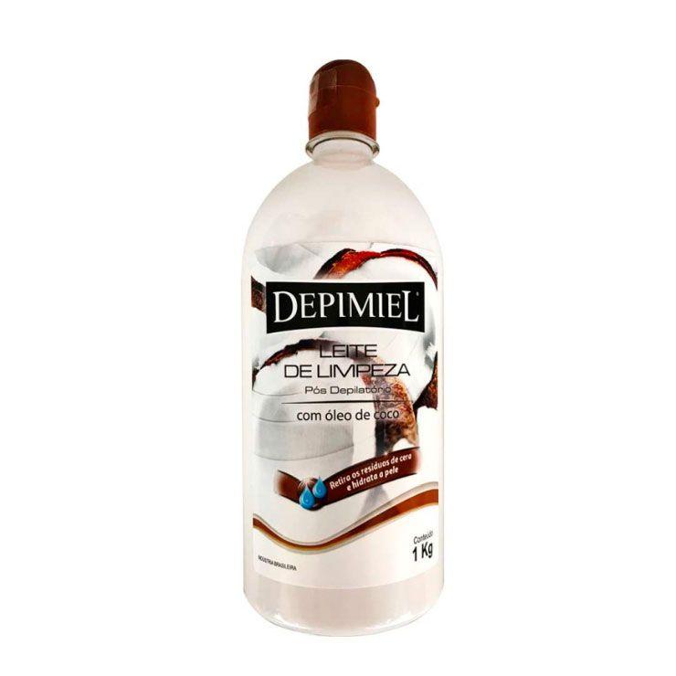 Leite de Limpeza Pós Depilação Depimiel - 1kg