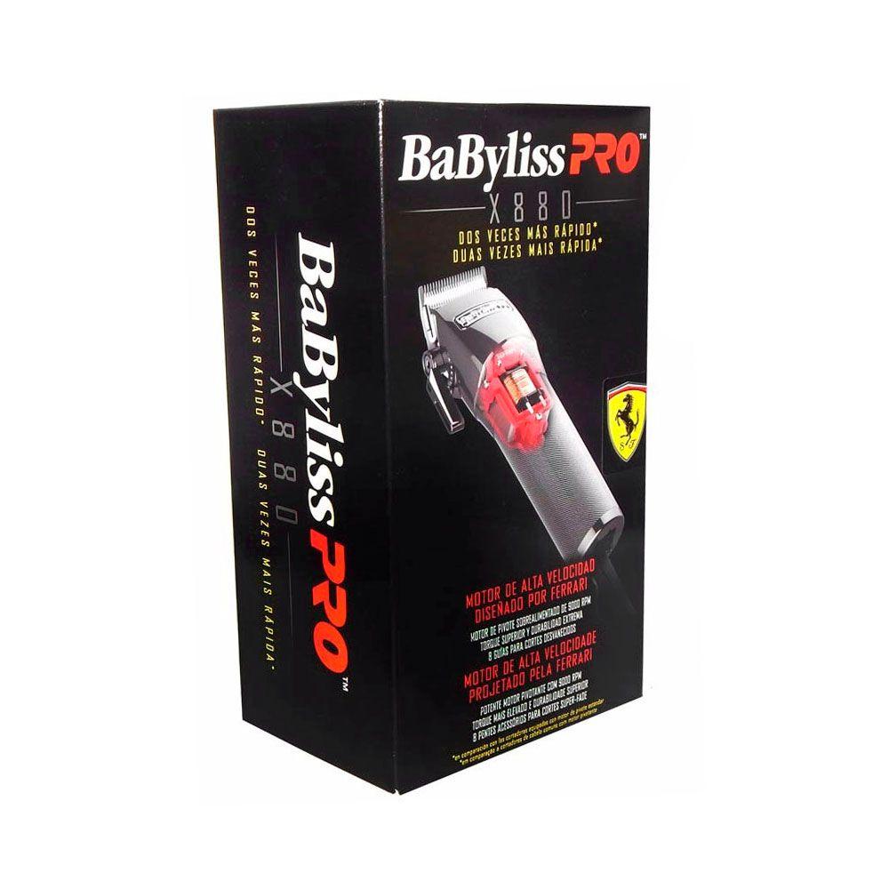 Máquina de Corte Babyliss Pro x880 - Bivolt