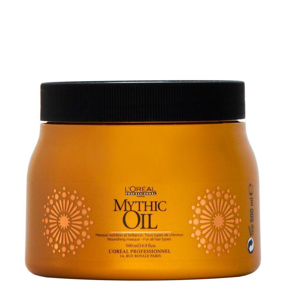Máscara de Brilho Nutritivo Mythic Oil L'Oréal Professionnel - 500ml