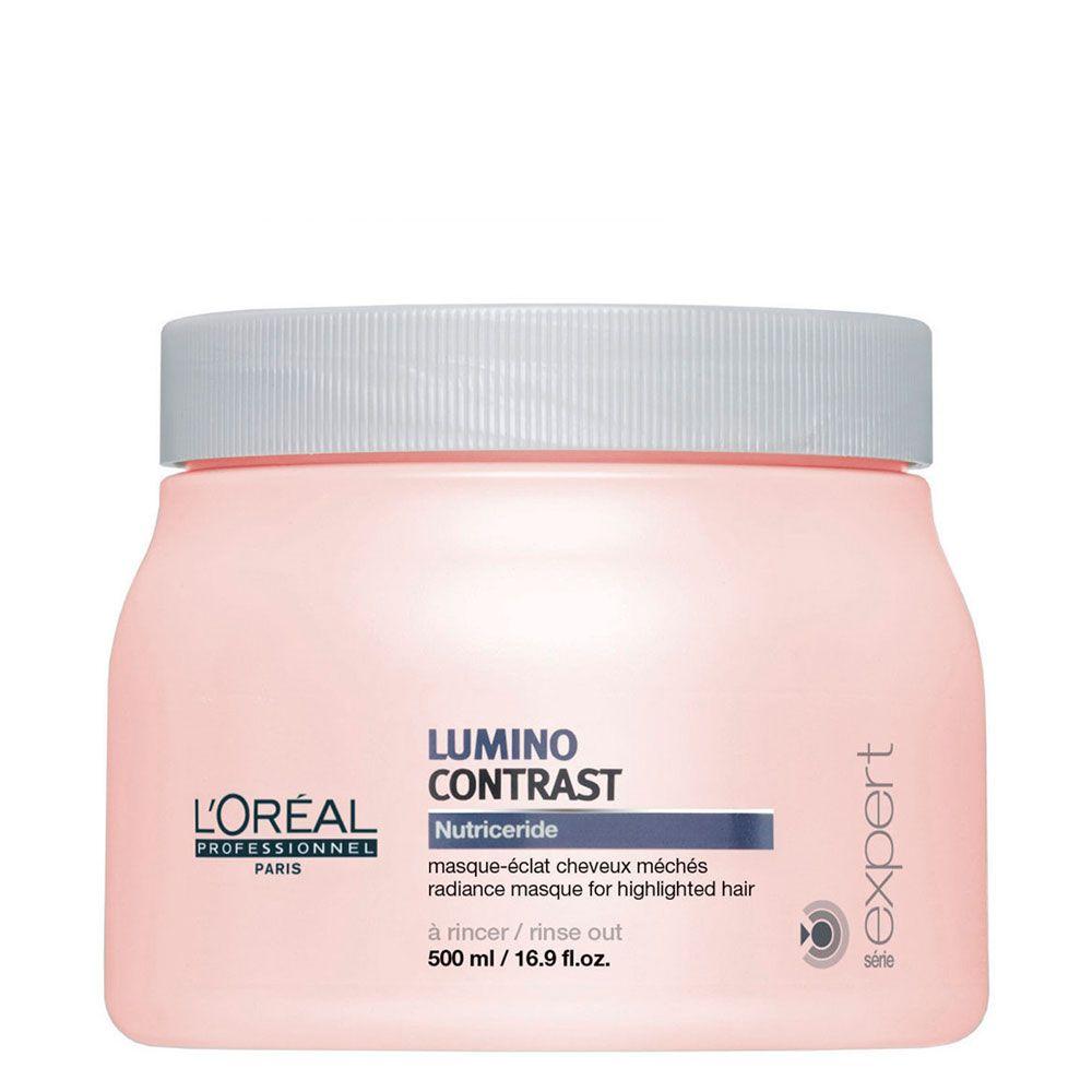 Máscara de Brilho Para Mechas Lumino Contrast L'Oréal Professionnel - 500g