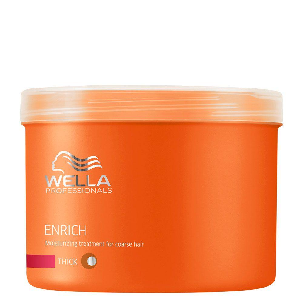 Máscara Enrich Hidratante Para Cabelo Grosso Wella Professional - 500ml