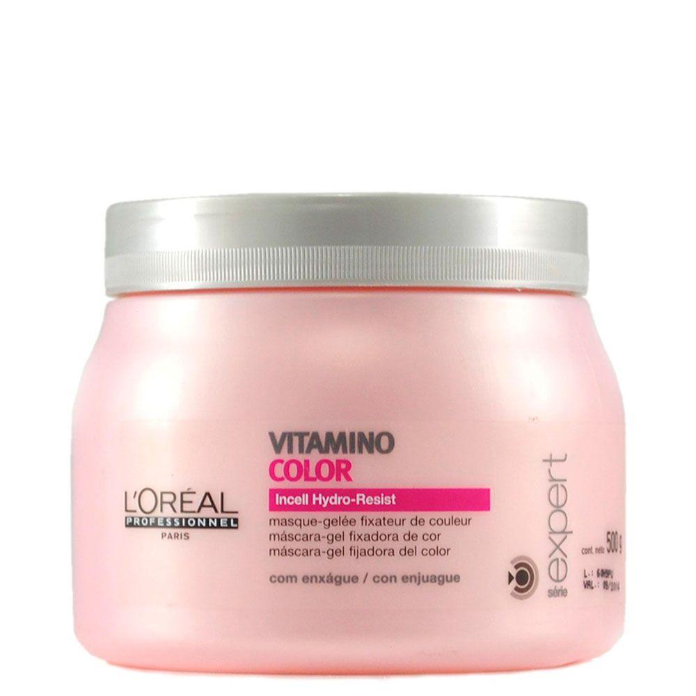Máscara Fixadora da Cor Vitamino Color L'Oréal Professionnel - 500g