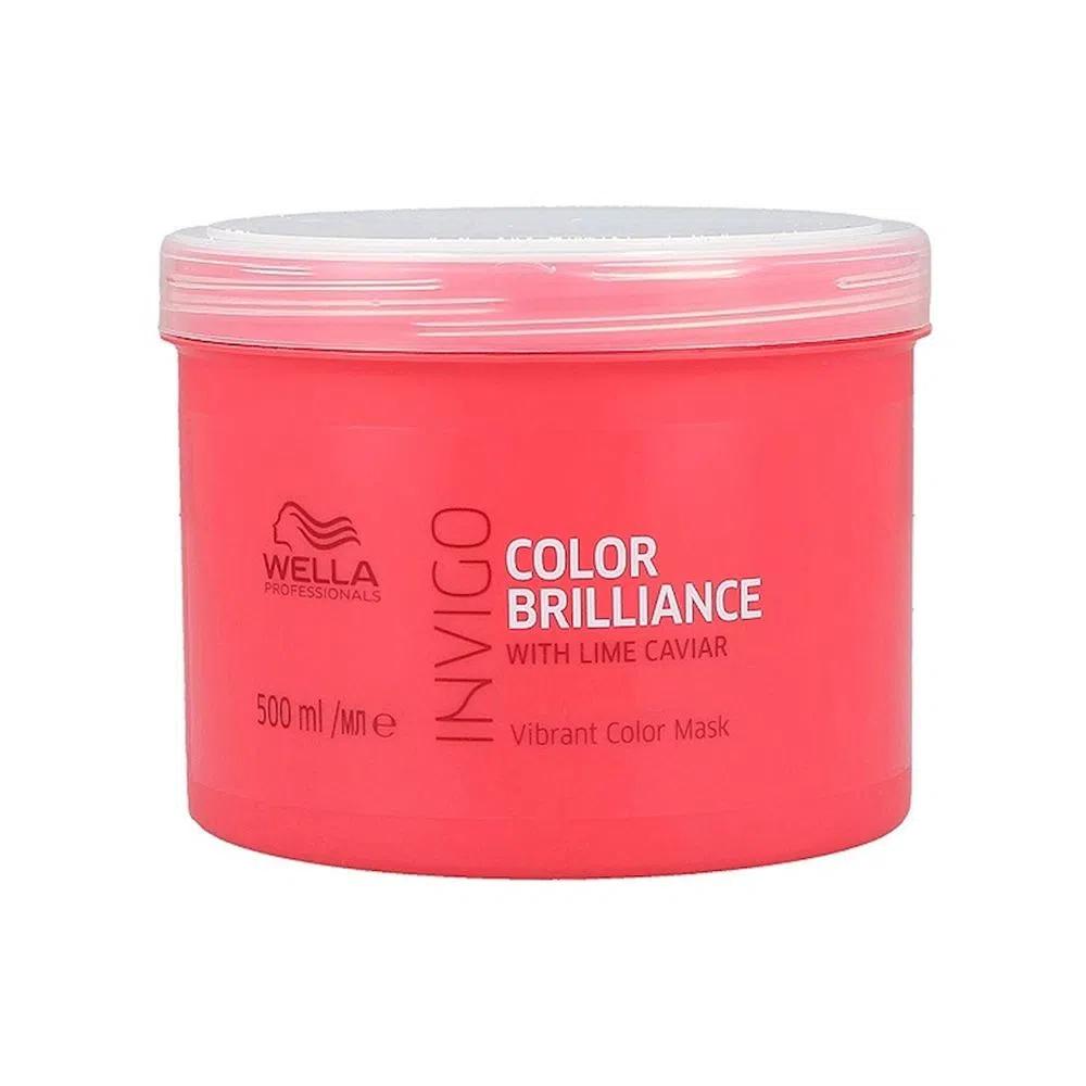 Máscara Wella Professional Color Brilliance 500g