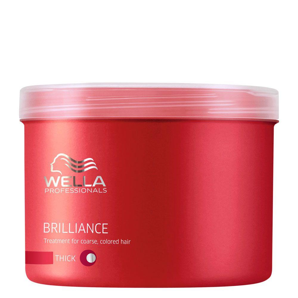 Máscara para Cabelo Grosso Brilliance Wella Professional - 500ml