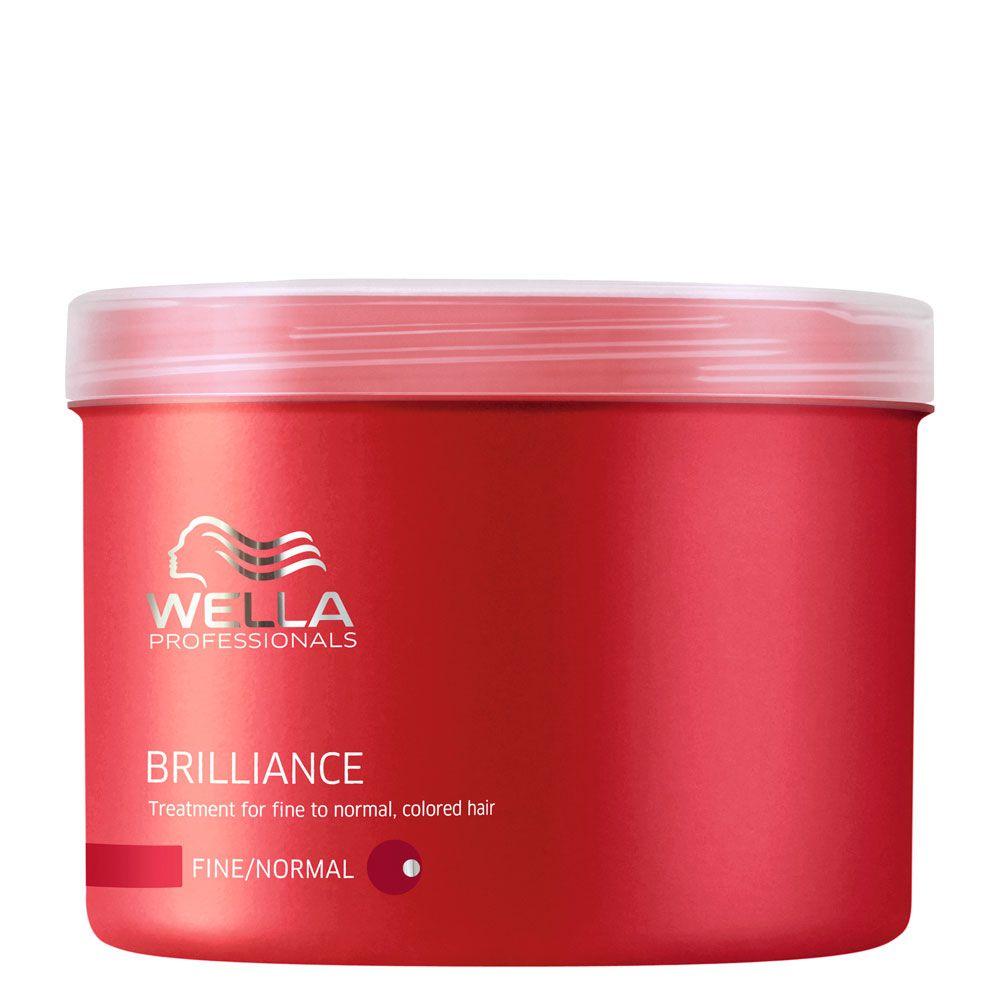Máscara para Cabelo Normal e Fino Brilliance Wella Professional - 500ml