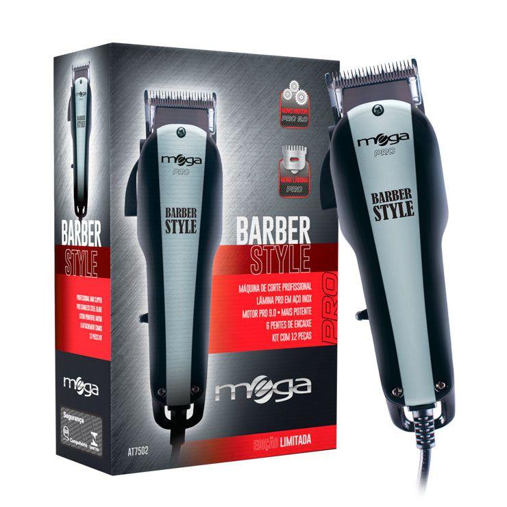 Mega Barber Style Máquina de Corte Profissional At7502s 110v