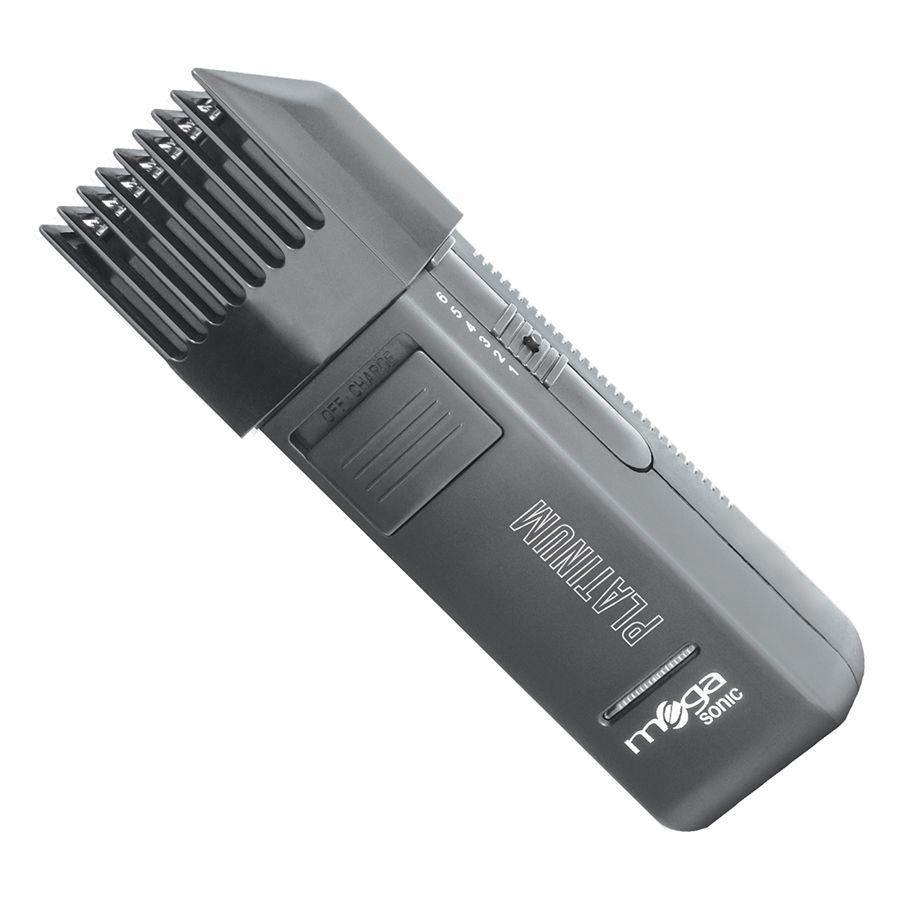 Mega Sonic Platinum Máquina De Acabamento Profissional Barba e Bigode - Bivolt