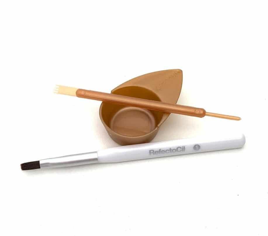 Mini Kit Pincel Aplicação Refectocil Rose Gold Plus