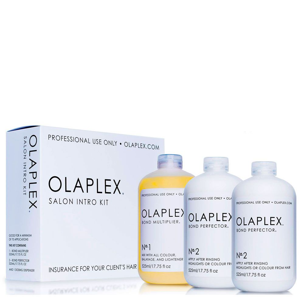Olaplex Kit de Salon Intro 3 Produtos Loiro Platinado - 525ml