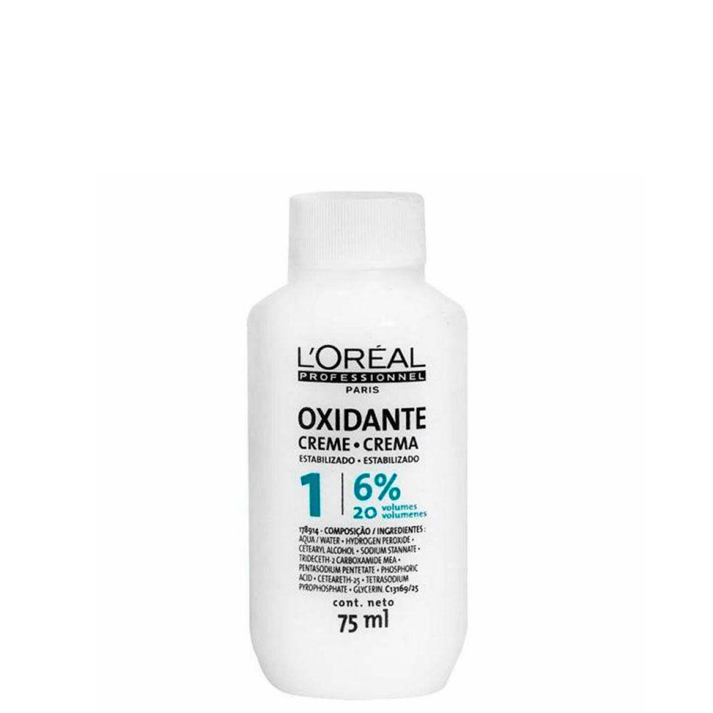 Oxidante em Creme L'Oréal Pequeno 6% 20 Volumes - 60ml