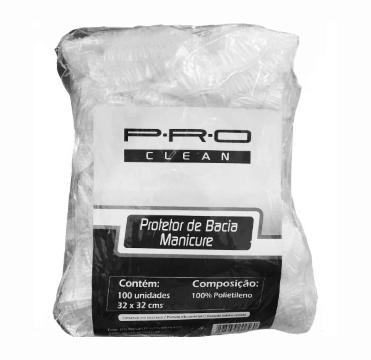 PRO Clean Protetor de Bacia Para Manicure