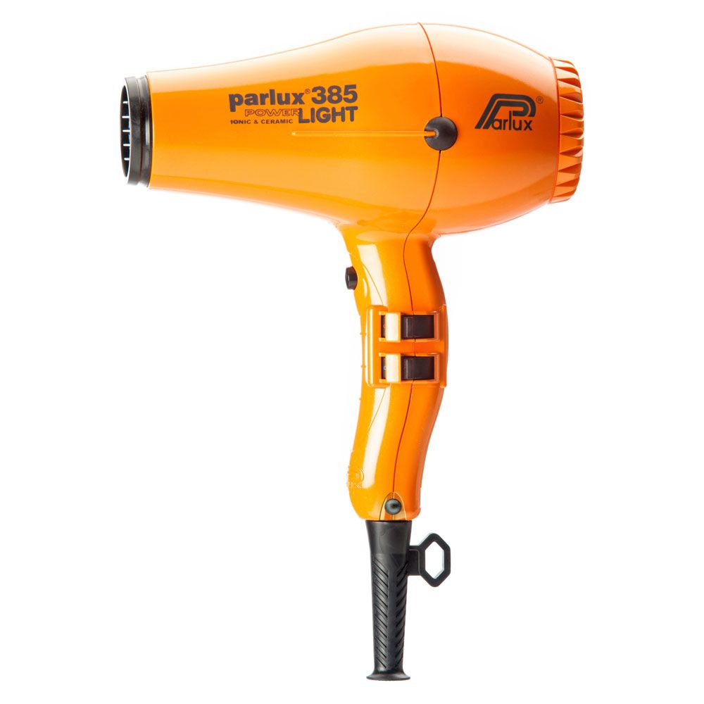 Secador Parlux 385 Power Light Ion Ceramic Laranja - 110V