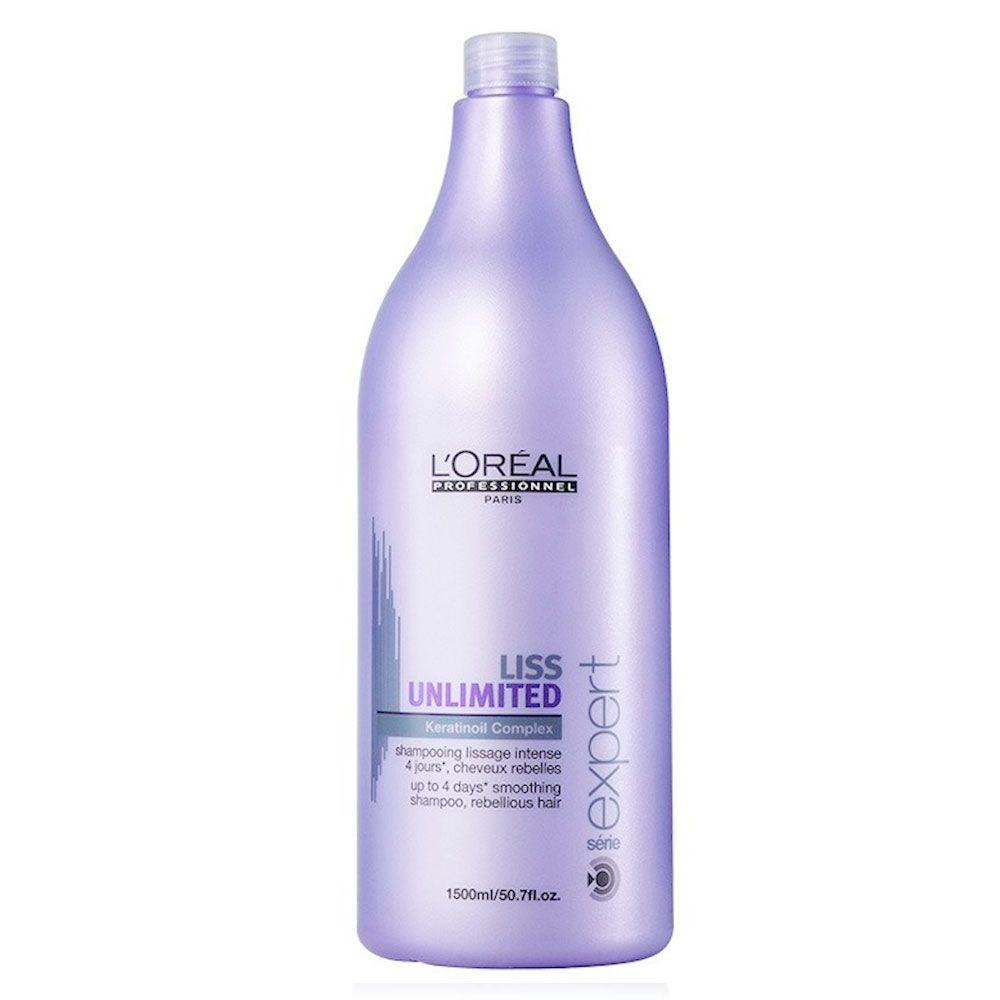 Shampoo de Alisamento Liss Unlimited L'Oréal Professionnel - 1500ml