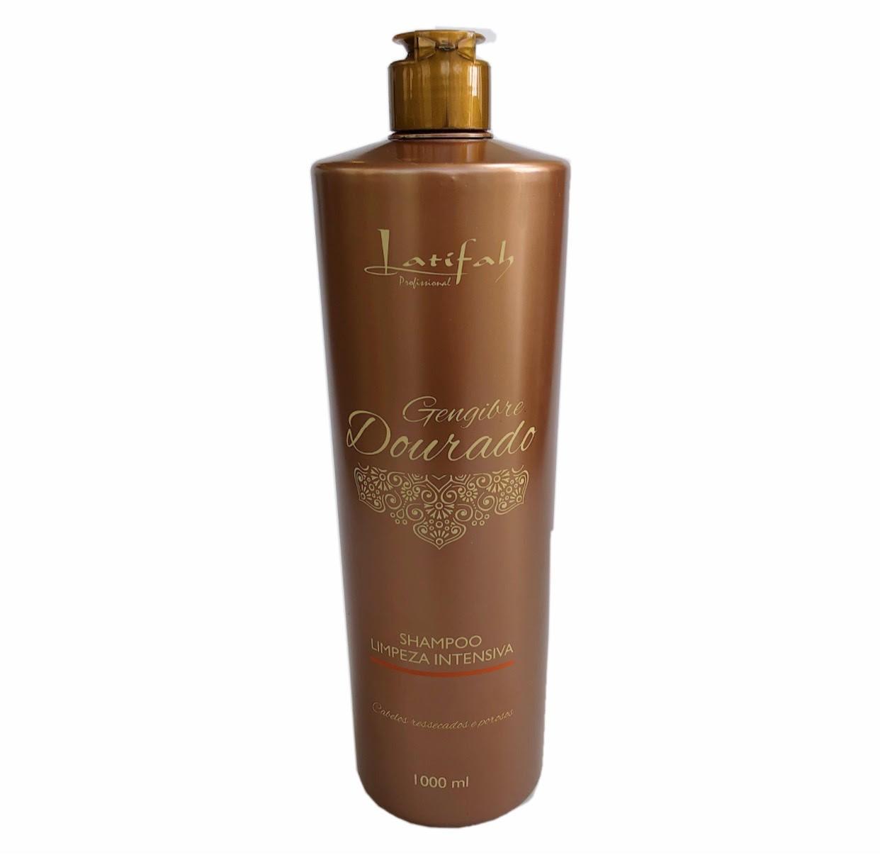 Shampoo de Limpeza Intensiva Latifah Gengibre Dourado 1000ml