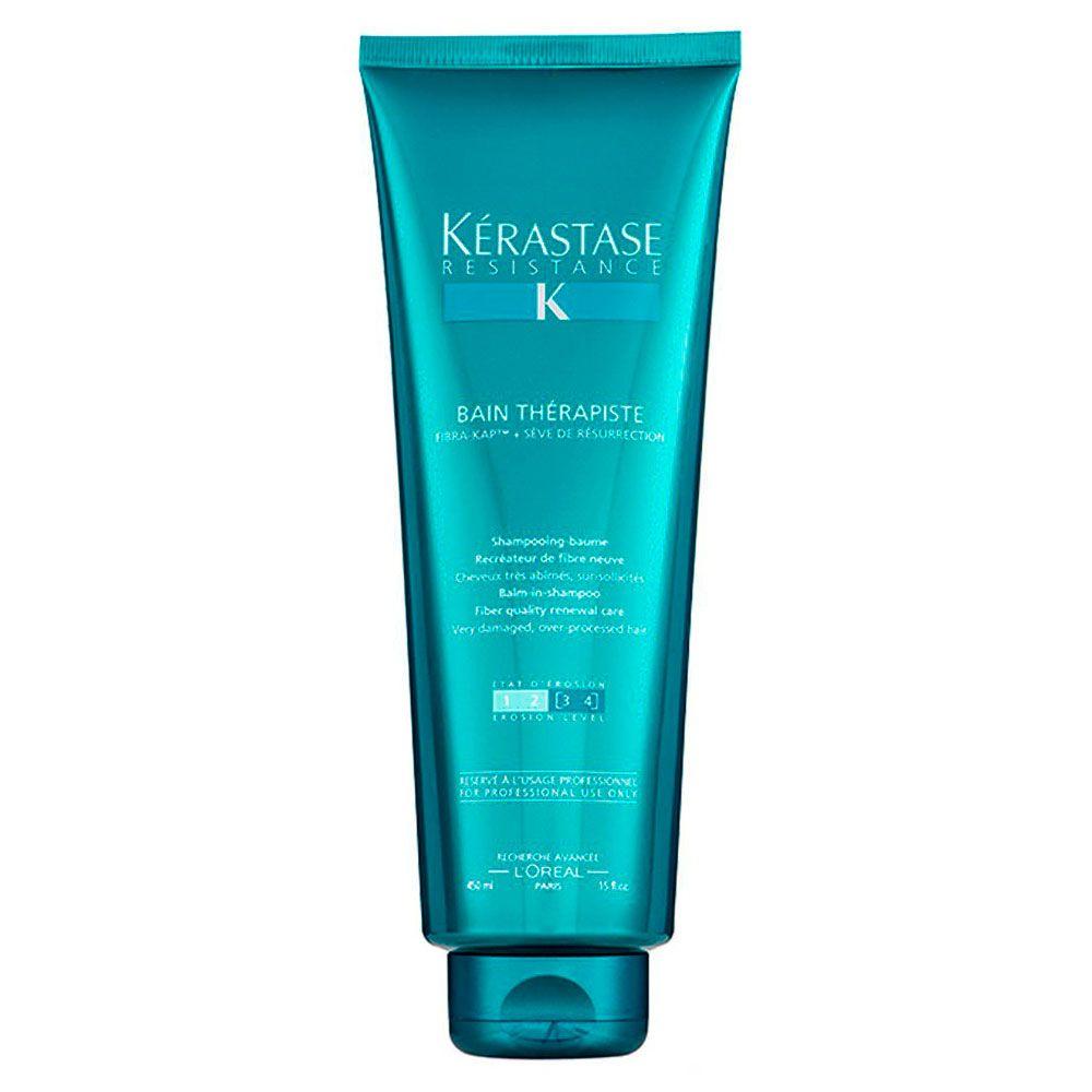 Shampoo Kérastase Resistance Bain Thérapiste - 450ml