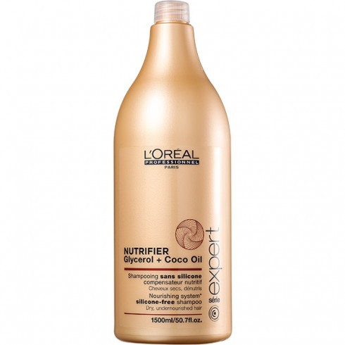 Shampoo L'Oréal Nutrifier Glycerol + Óleo de Coco - 1500ml